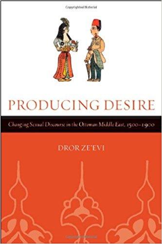 שער הספר Producing Desire מאת דרור זאבי